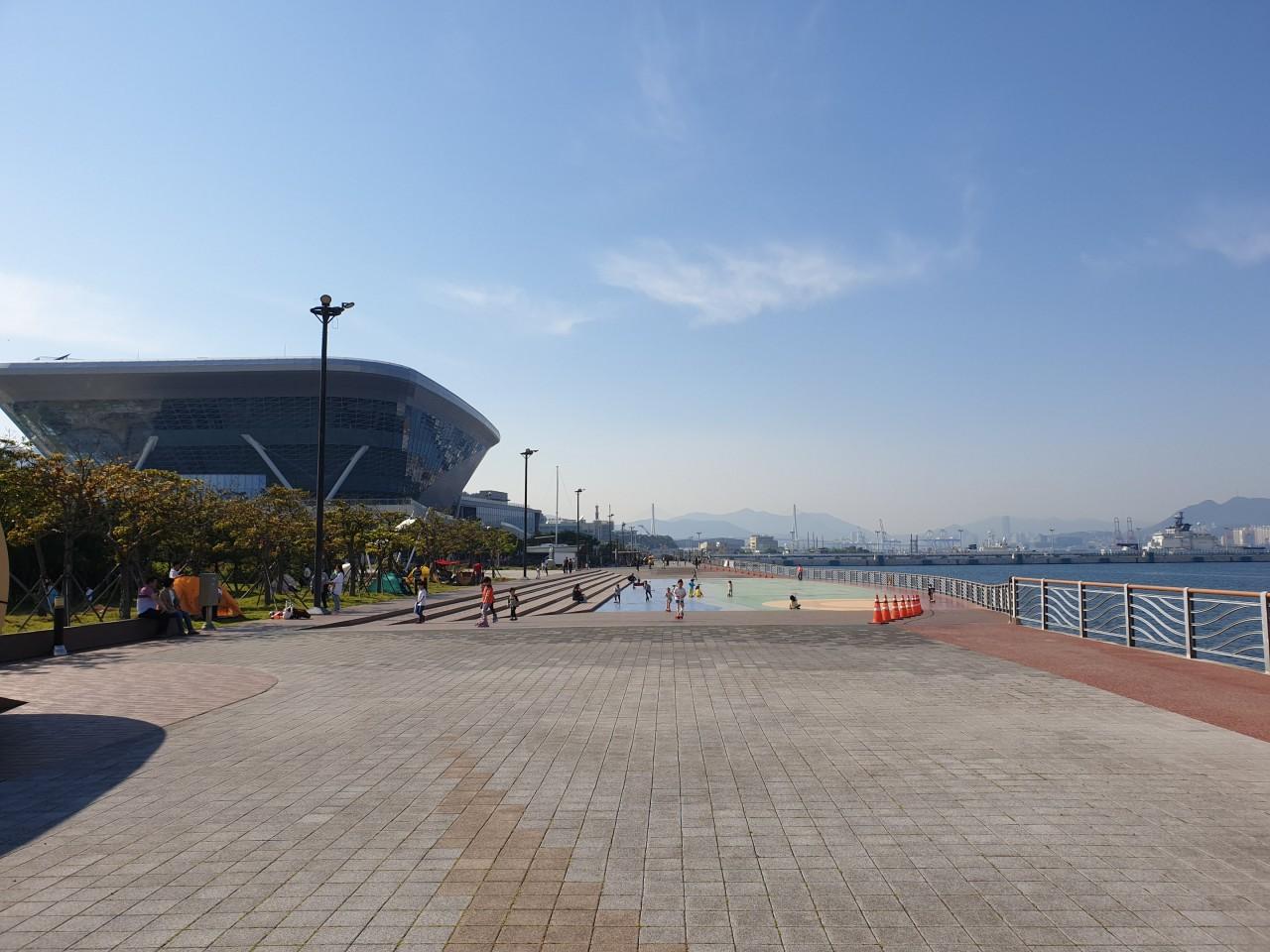 해양박물관 앞바다